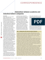 Collaborations Between Academia and Industries