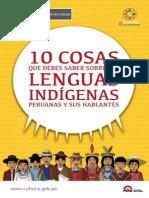 10 Cosas Que Debes Saber Sobre Las Lenguas Indígenas