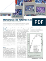Martensite and Retained Austenite