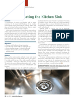 Heat Treating the Kitchen Sink