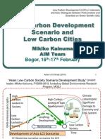 Low Carbon Development Scenarios