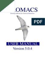 gromacs manual-5.0.4