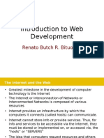 Introduction to Web Dev