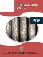 Annual Corrosion Survey Report 2013-14