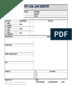 Kartu Soal Form