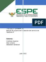 Manual Telefonia Ip Elastix