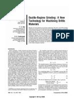 Ductile-Regime Grinding