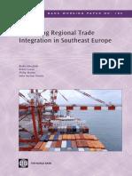 Enhancing Regional Trade Integration in Southeast Europe