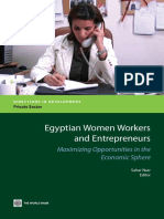Egyptian Women Workers and Entrepreneurs