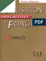 Civilisation Progressive Du Français (Debutant) Corriges