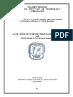 Academic Regulations 14