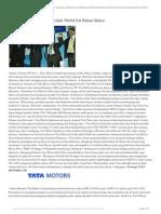 Tata Motors Luncurkan Produk Mobil Irit Bahan Bakar