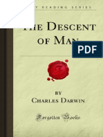 Decent of Man - By Charles Darwin