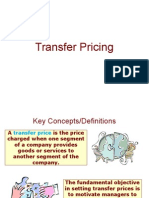 Transfer Pricing powerpoint presentation