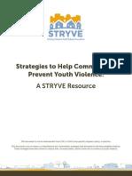 Strategies to Help Communities with children