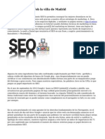 Posicionamiento Web la villa de Madrid