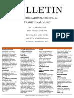 123 ICTM Bulletin Oct 2013 Good