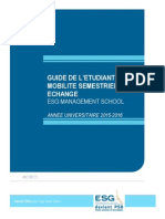 Guide Mobilité Semestrielle PSB 2015-2016 AP