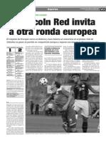 150708 La Verdad CG- El Lincoln Red Invita a Otra Ronda en La Europea Pp.16 y 17