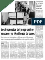 150708 La Verdad CG- Los Impuestos Del Juego Online Suponen Ya 19 Millones de Euros p.9