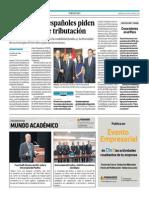 Yolanda Vaccaro Ollanta Humala Empresarios Españoles Ceoe