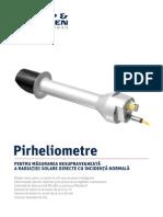 Pirheliometru CHP1 Si SHP1 Kipp & Zonen - Brosura