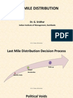 Last Mile Distribution