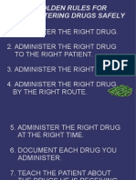 10 Gloden rules in administering drug safely.ppt