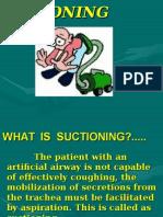 Suctioning Trachea