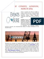 Global Ip Confex, London, March 2016