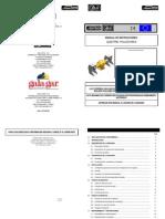 Manual de Instrucciones Cepilladora