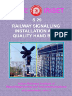 Railway Signalling Installation and Quality Hand Book