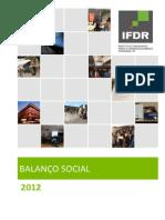 Balanço Social 2012