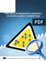 The Role of Municipal Assembly in Fight Against Corruption