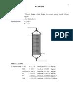 Reaktor Fixed Bed x