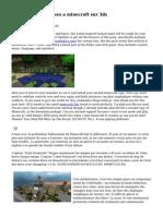 Les problemes redues a minecraft sur 3ds