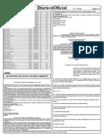 Portaria n° 17 de 21.01.15 - Disciplina procedimento arquivo definitivo processos SEMA