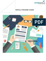 Internshala Resume Guide