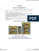 Infrared Proximity Detector