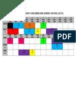 Jadual TMK SK KEmabong