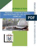 Construccion y Destruccion de Las Torres Gemelas 2