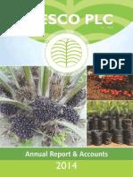 Annual Report & Accounts 2014 Presco Plc.