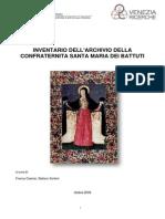 Larchivio Storico Dellantica Scuola Dei Battuti