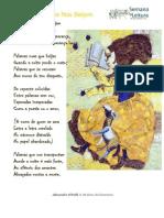 """Poesia acerca de """"Palavras"""""""