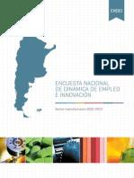 Encuesta Nacional de Empleo e Innovación 2014