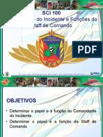 3ª Aula - Com. Do Inc. e Staff Cmd - Versão 2013