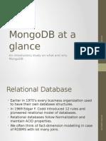 MongoDB at a Glance