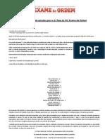 Original Cronograma de Estudos Parcrona o XVI Exame de Ordem