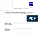 How to Prepare a Successful Feasibility Study