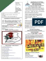 Boletim - 10 de Maio de 2015